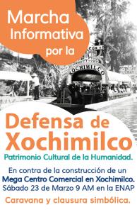 MARCHA DEFENSA XOCHIMILCO
